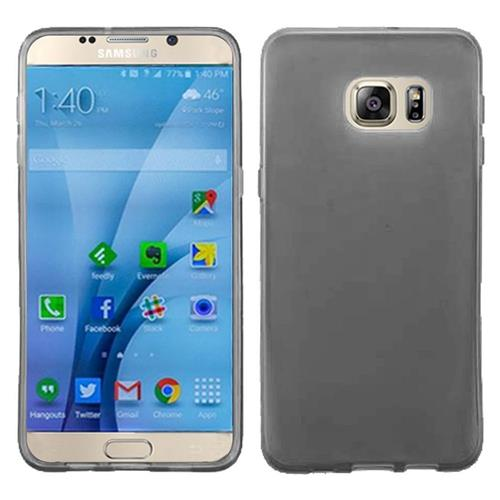 Insten Frosted Rubber Case For Samsung Galaxy S7, Smoke