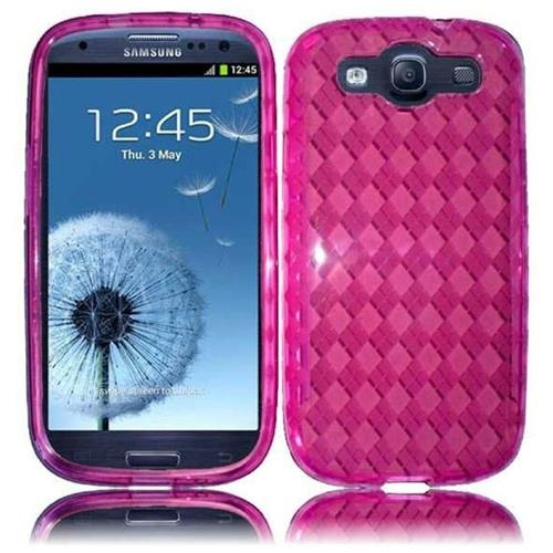 Insten Gel Case For Samsung Galaxy S3, Hot Pink