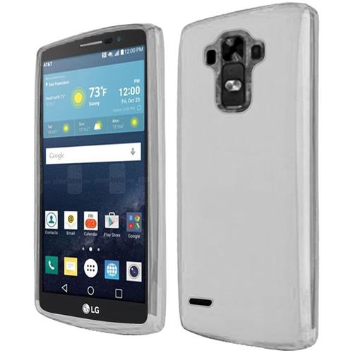Insten Frosted Gel Cover Case For LG G Vista 2, Clear