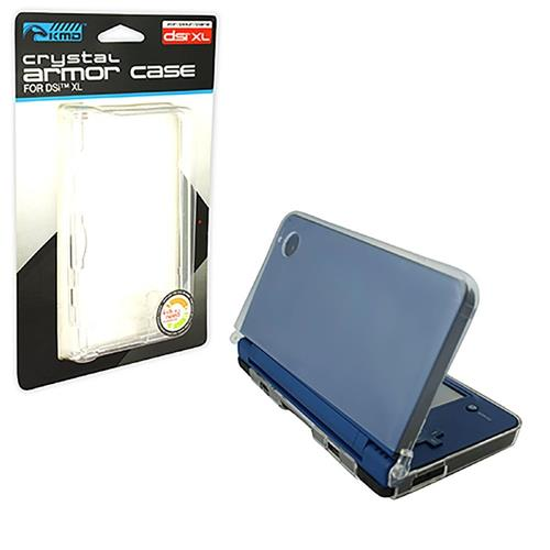 KMD Crystal Armor Case For Nintendo DSi XL, Clear