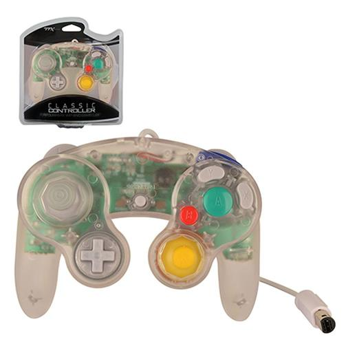 TTX Tech Wired Controller For Nintendo GameCube System Clear
