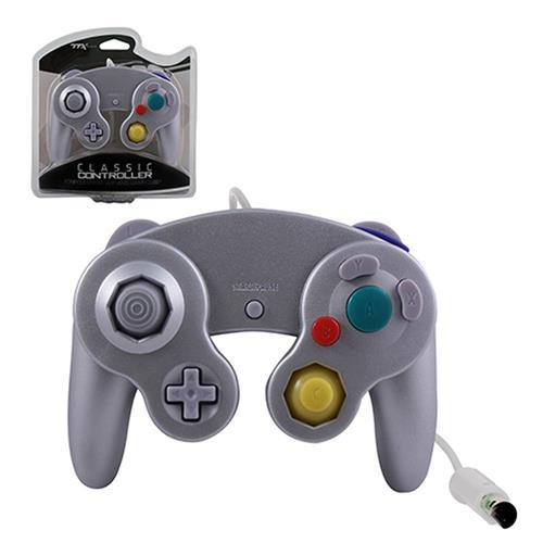 TTX Tech Wired Controller For Nintendo GameCube System Silver