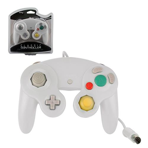 TTX Tech Wired Controller For Nintendo GameCube System White