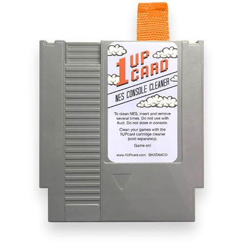 NES 1 UP Retro Video Game Console Cleaner Cleaning Kit [1UP Card]
