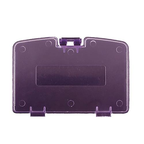 TTX Tech GBC Battery Door Cover Repair Part Clear For Game Boy Color, Purple