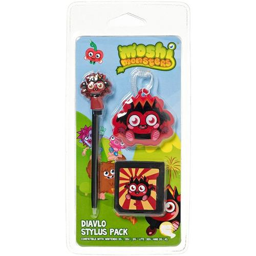 Moshi Monsters Stylus Pack Dialvo For Nintendo DS Lite/DSi/3DS/New 3DS XL