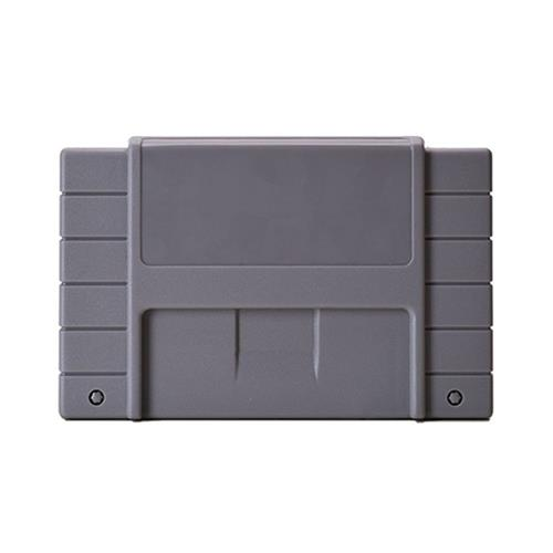 Third Party SNES Snap-On Replacement Cartridge Case (Bulk New), Grey