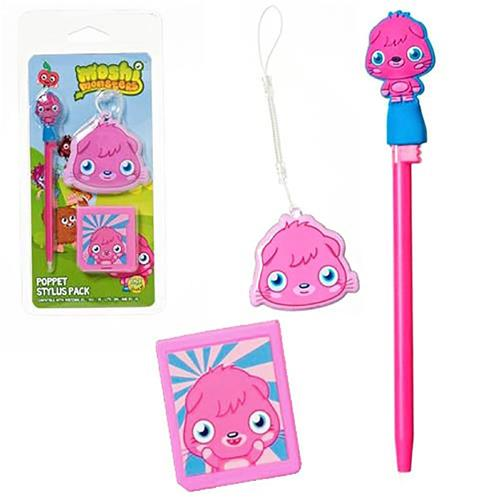 Moshi Monsters Stylus Pack Poppet For Nintendo DS Lite/DSi/3DS/New 3DS XL