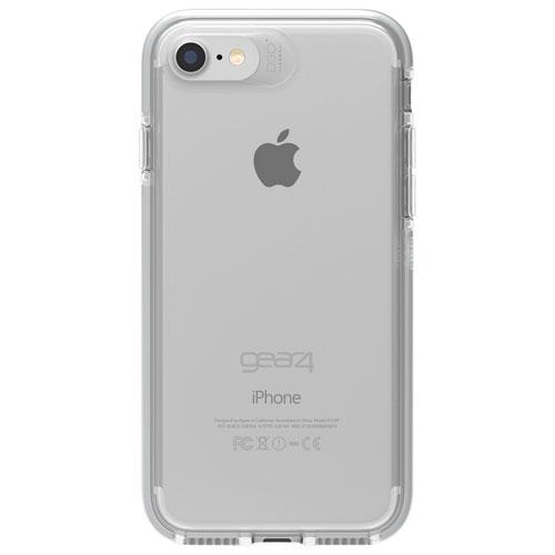Étui rigide ajusté Piccadilly de Gear4 pour iPhone 7/8 - Argenté