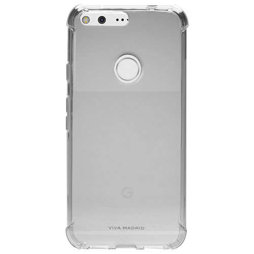 Viva Madrid Airfit Duro Google Pixel Fitted Soft Shell Case - Clear