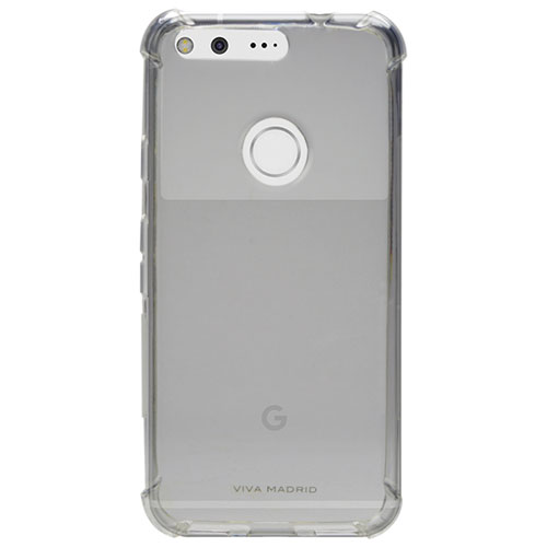 Viva Madrid Airfit Duro Google Pixel XL Fitted Soft Shell Case - Clear