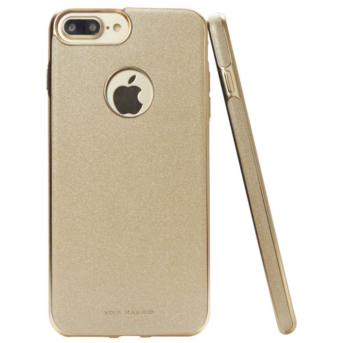 Viva Madrid Mirada iPhone 7/8 Plus Fitted Soft Shell Case - Gold
