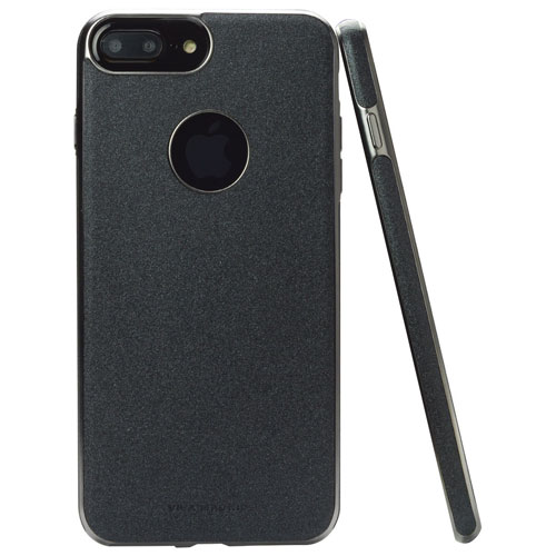 Viva Madrid Mirada Carbono iPhone 7/8 Plus Fitted Soft Shell Case - Black