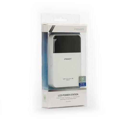 Pisen LCD Power Station II 10000mah Dual output portable mobile Power Bank