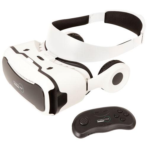 Retrak Utopia 360° Elite VR Headset with HD Stereo Headphones