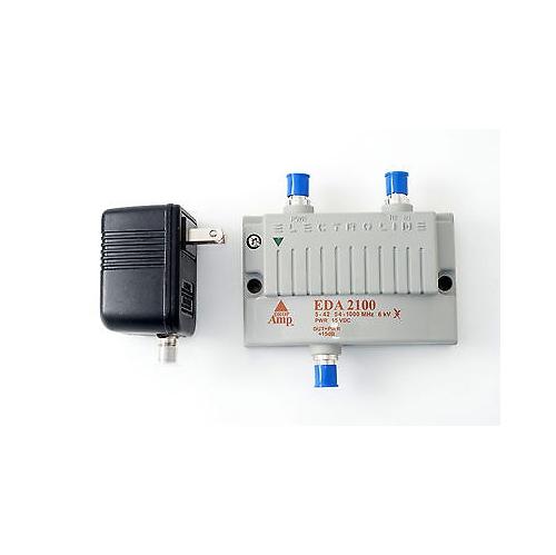 Electroline EDA2100 Cable TV Drop Amp 15dB