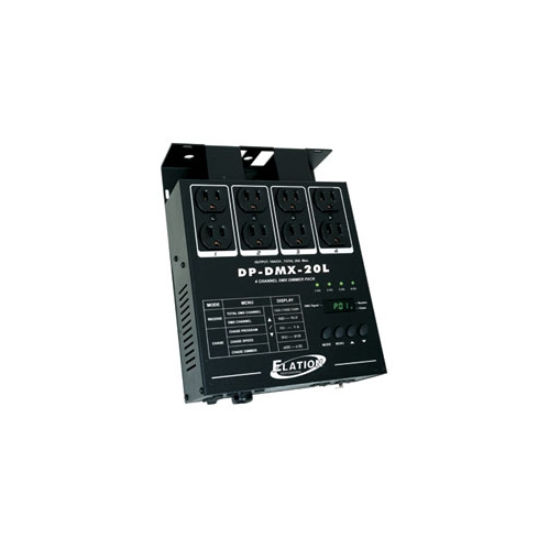 American DJ DP-DMX-20L 4 Channel DMX Dimmer/Switch