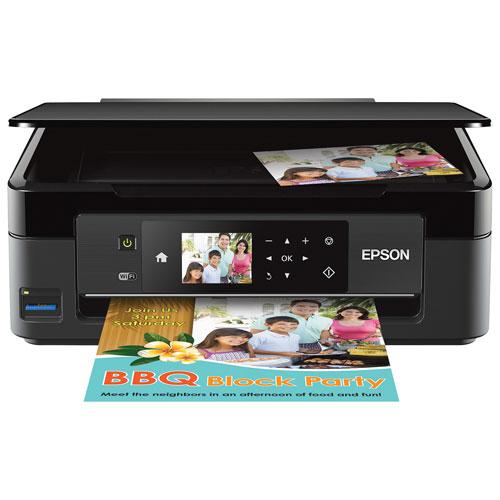 epson xp440 colour wireless all in one inkjet printer inkjet printers best buy canada. Black Bedroom Furniture Sets. Home Design Ideas