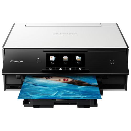 Canon PIXMA TS9020 Wireless All-In-One Inkjet Printer - White