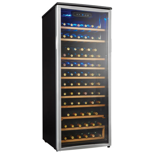 Danby Designer 75 Bottle Dual Temperature Zone Wine Cooler