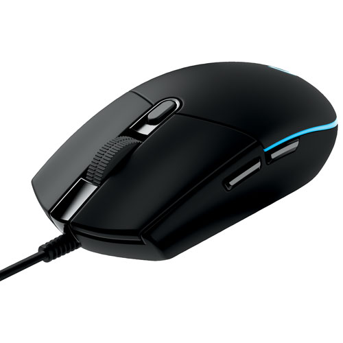 3dae431989b Logitech Prodigy G203 6000DPI Optical Gaming Mouse - Black | Best Buy Canada