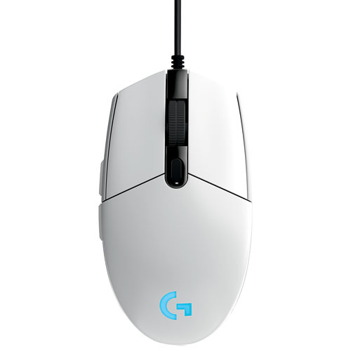 Logitech Prodigy G203 6000 DPI Optical Gaming Mouse - White