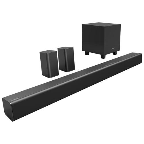 magnavox msb5660 160 watt 5 1 channel sound bar with wireless