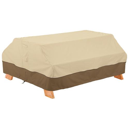 "Classic Accessories Veranda Water Resistant Picnic Table Cover - 72"" x 30"" x 57"" - Beige"