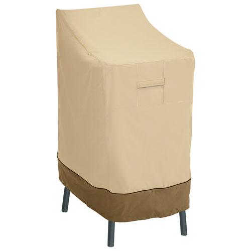 housse r sistante eau veranda classic accessories pour chaise ou tabouret de bar 28x48x26 po. Black Bedroom Furniture Sets. Home Design Ideas
