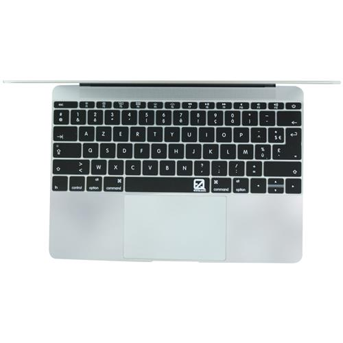 "EZQuest X21050 French Keyboard Cover for MacBook 12"", US/ISO"
