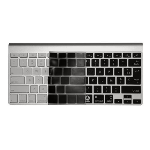 "EZQuest X21150 French Keyboard Cover for MacBook/Air 13"" /Pro, US/ISO, Black"