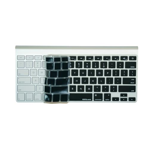 EZQuest X21180 Color Expressions! English Keyboard Cover for MacBook/Air/Pro, US, Black, English