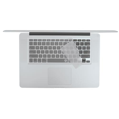 EZQuest X22303 Clear Invisible Ice Keyboard Cover for MacBook/Air/Pro, US/ISO, English