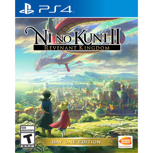 e26eb6fcd Ni No Kuni II  Revenant Kingdom Day One Edition (PS4)   PS4 Games ...
