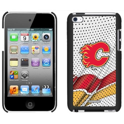Licensed NHL Thinshield Case - iPod Touch 4 - Calgary Flames - Away Jersey