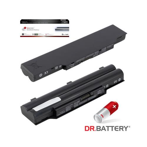 Dr. Battery Advanced Pro Series Replacement Laptop Battery - Fujitsu - 2 Year Warranty - Free Shipping