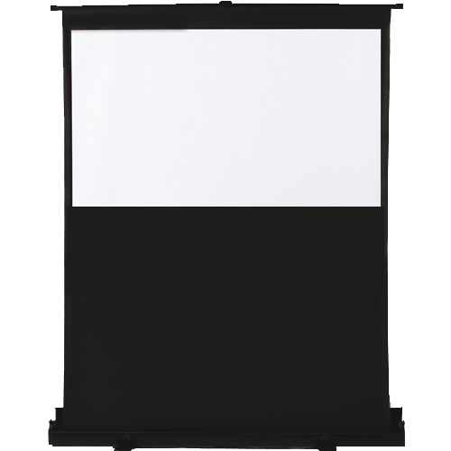 "Antra 92"" 16:9 Floor Popup ""Air-Lift"" Mobile Compact Portable projection screen Matte White 1.2 Gain 3D HDTV 1080p Ready"