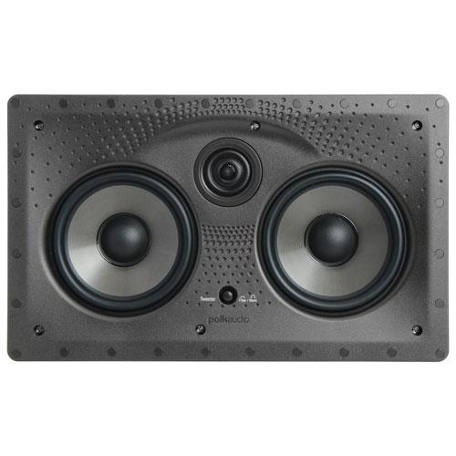 """Polk Audio 255CLS 5.25"""" 150-Watt 2-Way In-Wall Centre Channel Speaker - Single - White"""