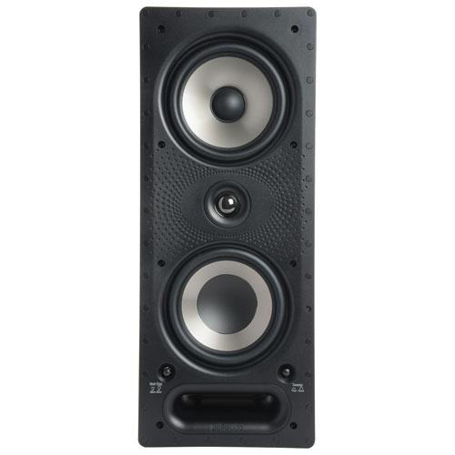 "Polk Audio 265-RT 6.5"" 200-Watt 2-Way In-Wall Speaker - Single - White"