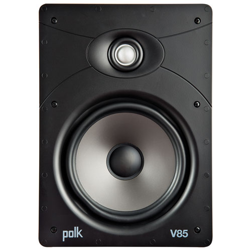 """Polk Audio V85 8"""" 125-Watt 2-Way In-Ceiling Speaker - Single - White"""