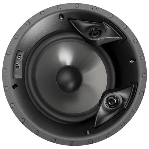 Haut-parleur de plafond 100 W 8 po 80 F/X RT de Polk Audio - Unité - Blanc