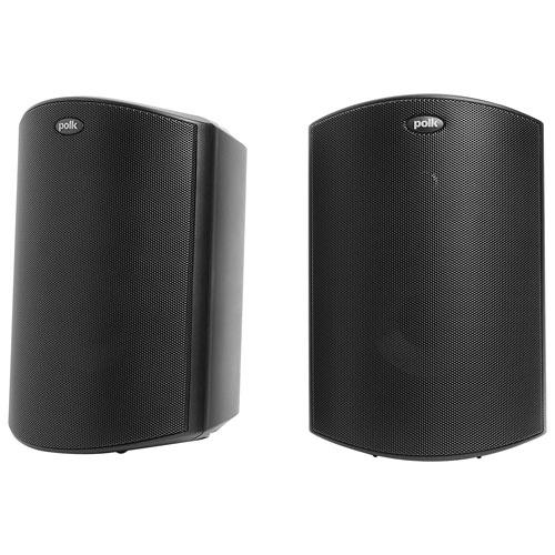 Haut-parleurs d'extérieur à 2 voies 100 W Atrium 6 de Polk Audio - Paire - Noir