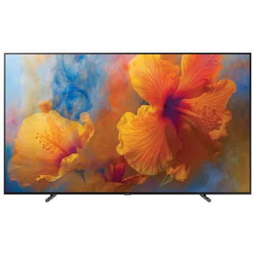 Téléviseur intelligent Tizen HDR QLED UHD 4K de 88 po de Samsung (QN88Q9FAMFXZC) - Noir anthracite