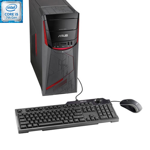 ASUS G11 Gaming PC (Intel Core i5-7400/ 1TB HDD/ 12GB RAM/ NVIDIA GeForce GTX1050/ Windows 10)