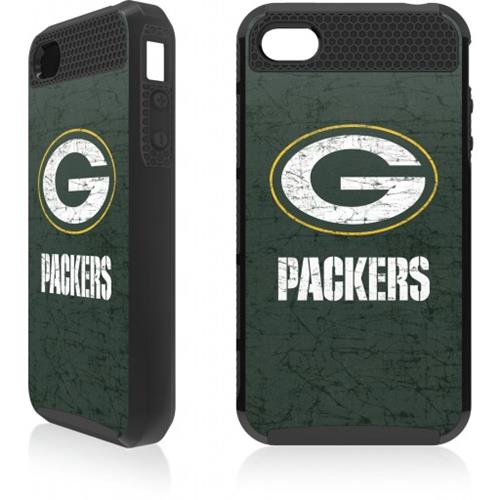 Skin-It Green Bay Packers Distressed Logo Cargo for iPhone 4/4s