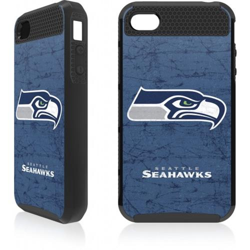 Skin-It Seattle Seahawks Distressed Logo Cargo Case for iPhone 4/4s