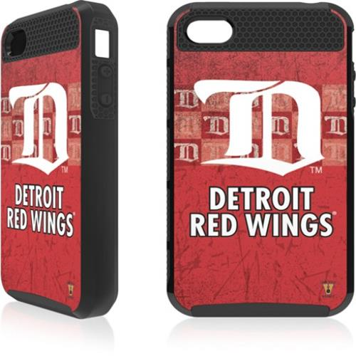 Skin-It Detroit Red Wings Distressed Logo Cargo Case for iPhone 4/4s