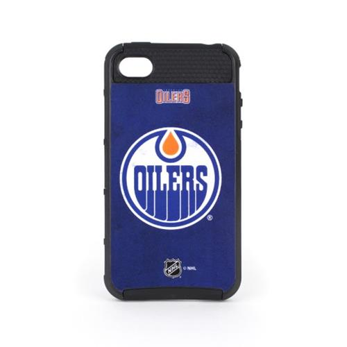 Skin-It Edmonton Oilers Distressed Logo Cargo Case for iPhone 4/4s