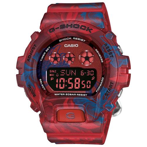 G-Shock S-Series 49mm Women's Digital Sport Watch - Blue/Red
