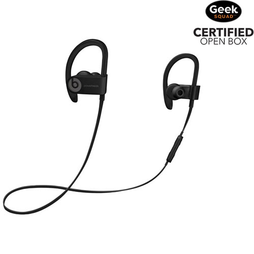 77615e52b27 Beats by Dr. Dre Powerbeats 3 In-Ear Bluetooth Headphones - Black - Open Box  | Best Buy Canada